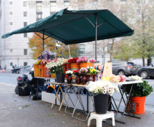 City Hall Flowers Booth